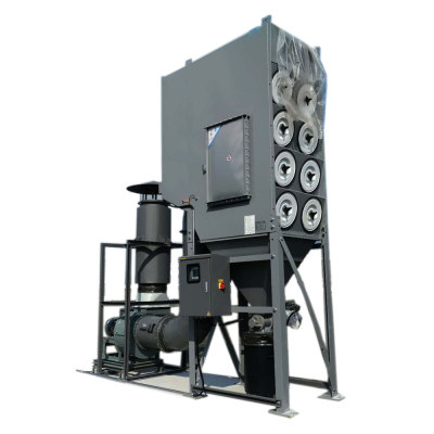 ACMAN Explosion Proof Central Dust Collection System Cartridge Dust Collector with Pulse Jet and Explosion Vent