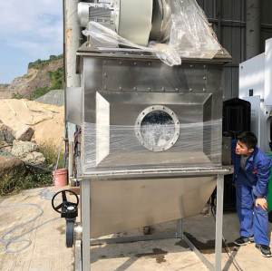 8000CBM Industrial Wet Scrubbing Machines Water Filter Dust Collector for Coating Granulation Lines