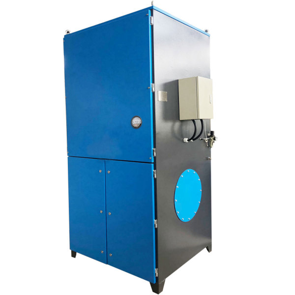 Pulse Jet Cartridge Dust Collector, industrial Dust Filtration System ACMAN TR-120B