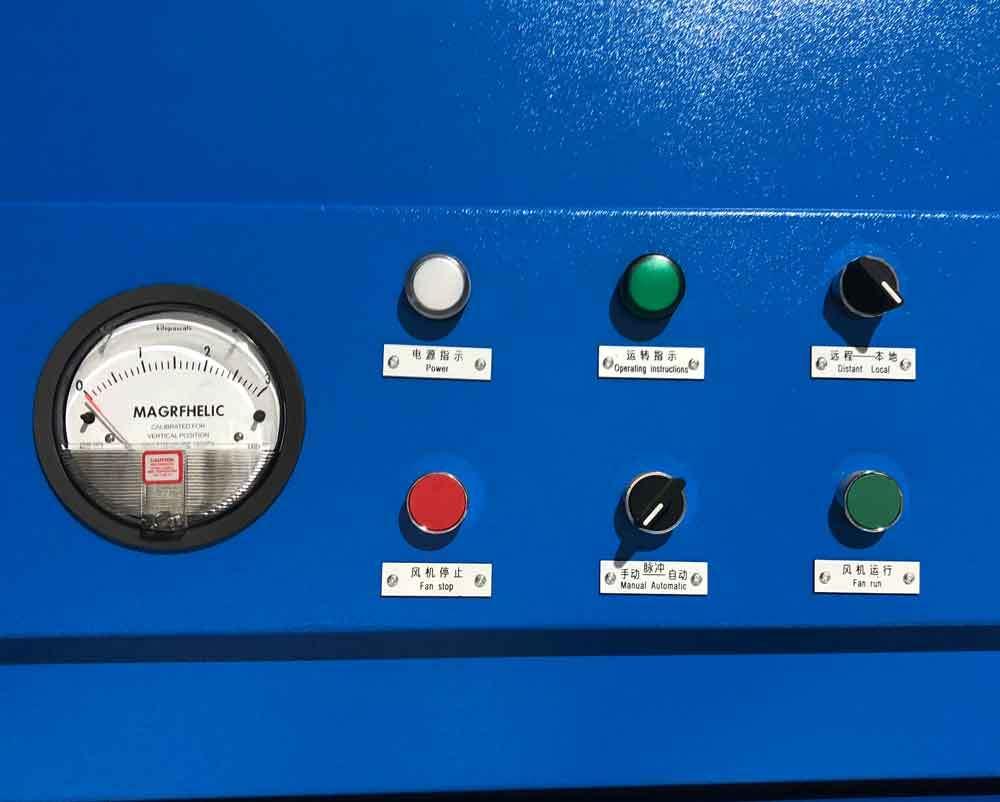 fiber dust extractor