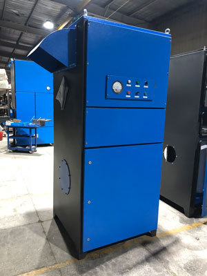 pulse jet dust collection system separator