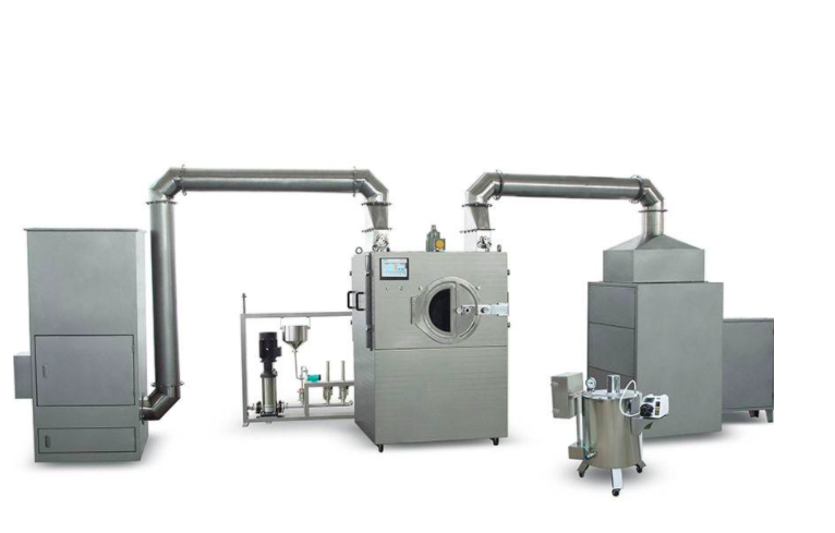 Pharma Tablet Coating Dust Extraction system