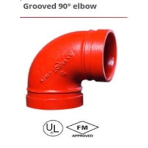 Grooved 90 Elbow