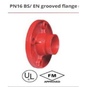 PN16 BS/EN grooved flange