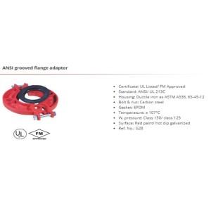 ANSI grooved flange adaptor