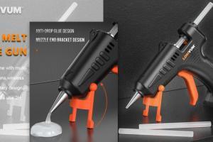 3.6V Battery hot melt glue gun cordless