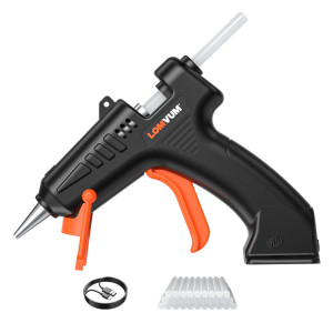 Cordless 4.2V Lithium-ion Hot Melt Glue Gun DIY Tools