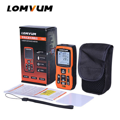 LOMVUM 40M Laser Ruler Digital Distance Meter Measurer Range Finder Laser Metreler