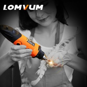 400W Mini Electric Grinder Multi-function Angle Grinder DIY Creative Drill Grinding Machine