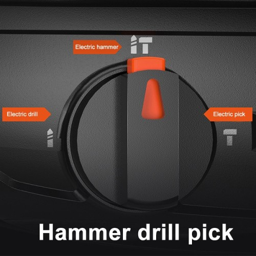Electric Hammer Impact Drill Electric Pick Drill High Power Multifunctional Household Concrete Tools