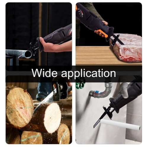 Electric Saw Parts Reciprocating Saw 13.7 Inch 850W Cutting Power Tools Into Chain Saw Woodworking