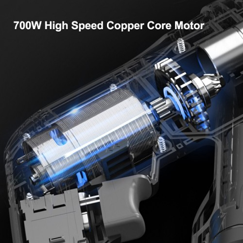 Rechargeable Lithium Battery Electric Rotary Hammer Drill Demolition Hammer