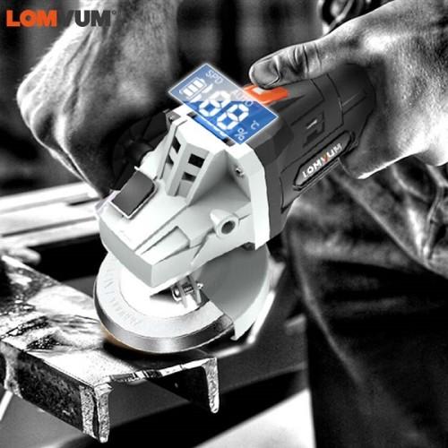 Power 21V Lithium Battery Brushless Cordless Grinding Multi-function Angle Grinder