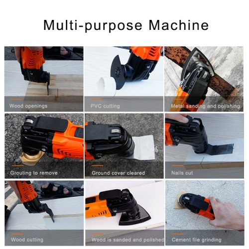 Multi-Function 300W Multimaster Electric Cutter Trimmer Electric Saw Renovator Tool Woodworking Oscillating Tools