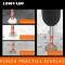 10pcs/box Alloy Triangular Head Auger Twist Drill Bits For Glass Stone Power Tool Best Promotion 6/8/10/12mm Drill Bit Set