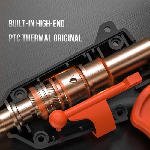 Cordless 4.2V Lithium-ion Hot Melt Glue Gun DIY Tools