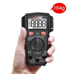 LS6 Intelligent Multimeter High-precision Automatic Multi-function Mini Portable Anti-burn Digital Table.