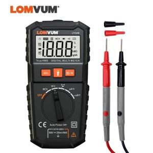 LY108 LOMVUM NCV Digital Multimeter Auto Ranging AC/DC voltage Meter Flash Back light Large Screen Ohm Tester