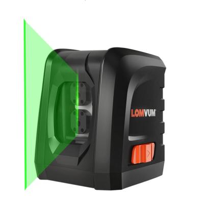 LOMVUM Mini Horizontal and Vertical Cross Line 360 Self-leveling Portable 360 laser level