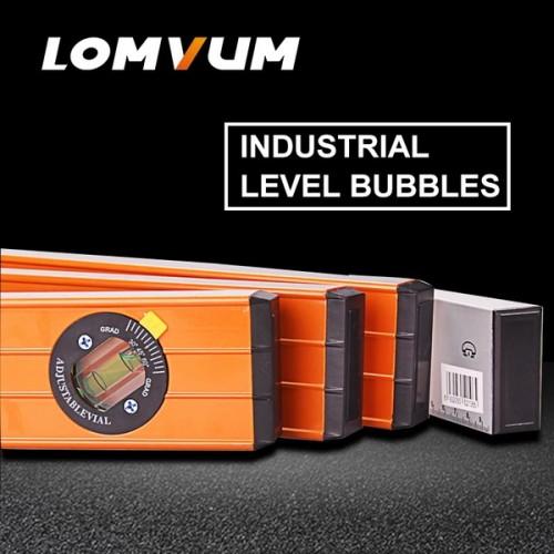 LOMVUM High Precision Spirit Level Ruler Bubbles Lever