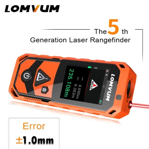 LOMVUM LP/LT New Arrival Laser Rangefinders Digital Laser Distance 200m Meter Distance Battery-powered Measurer Laser Camera Function