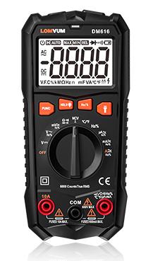 DM616/ DM66/ DM6S LOMVUM NCV Digital Multimeter 6000 counts Auto Ranging AC/DC voltage Meter Tester