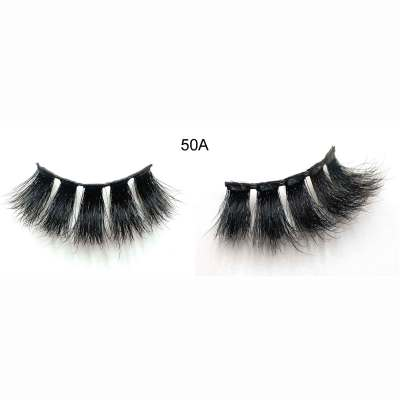 Wholesale private label 25mm 3d mink lashes
