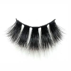 Wholesale private label 25mm 3d mink lashes