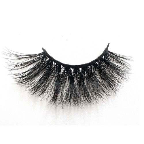 25mm Mink Strip Dramatic False Eyelashes