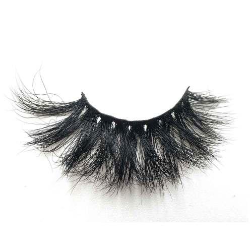 Dramatic Long Crossed Cruelty-free  Mink Eyelashes