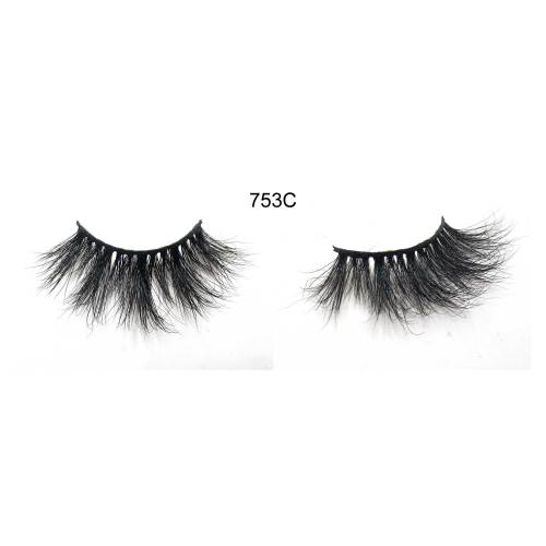 753A 100% mink  Lashes