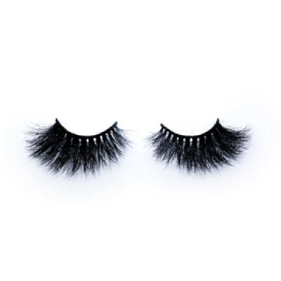 Top quality 25mm 12A style private label mink eyelash