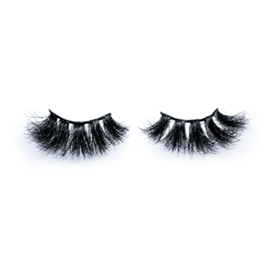 Top quality 25mm 50A style private label mink eyelash