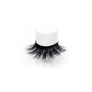 Top quality 25mm 187A style private label mink eyelash
