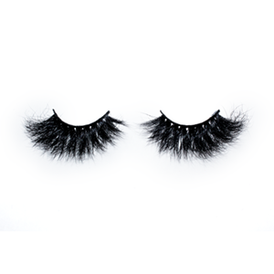 Top quality 25mm 609A style private label mink eyelash