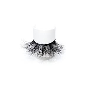 Top quality 25mm 737A style private label mink eyelash