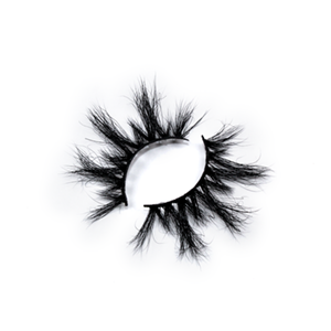 Top quality 25mm 47C style private label mink eyelash
