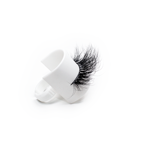 Top quality 25mm 753C style private label mink eyelash