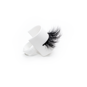 Top quality 25mm 187E style private label mink eyelash