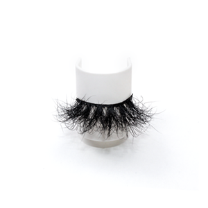 Top quality 25mm 48F style private label mink eyelash