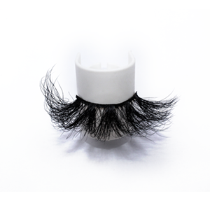 Top quality 25mm 57L style private label mink eyelash