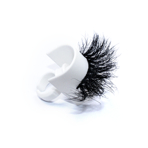 Top quality 25mm 609L style private label mink eyelash