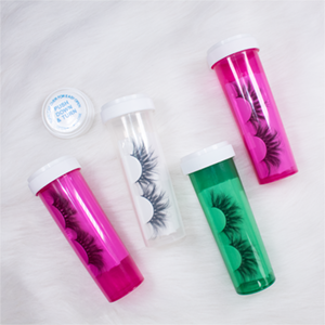 Charme Beauty top quality new and unique style eyelash packaging pill bottle lash