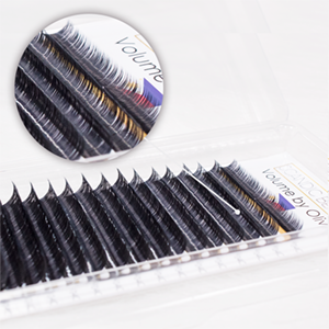 Charme Beauty Top Quality soft faux 3d individual eyelash extensions with custom private label