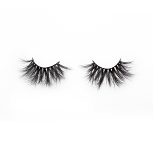 Top quality 28-30mm H145style private label mink eyelash