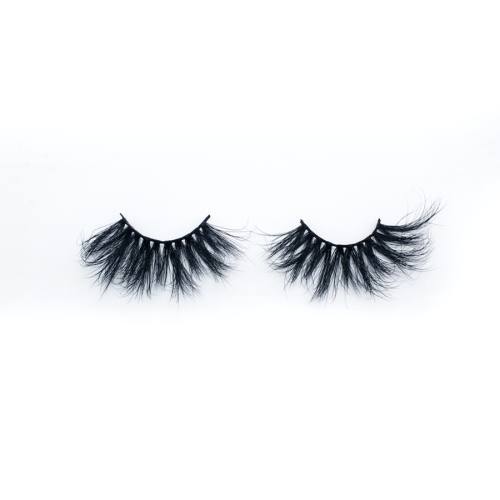 Top quality 28-30mm H47 style private label mink eyelash