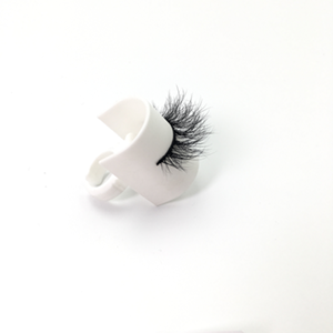 Top quality 14-18mm M100 style private label mink eyelash