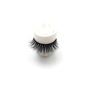 Top quality 14-18mm M155 style private label mink eyelash