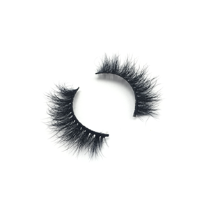 Top quality 14-18mm M187 style private label mink eyelash
