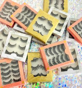 3D G800 5 pairs best eyelash 3d soft false eyelashes best eyelashes false Real 3d mink fur